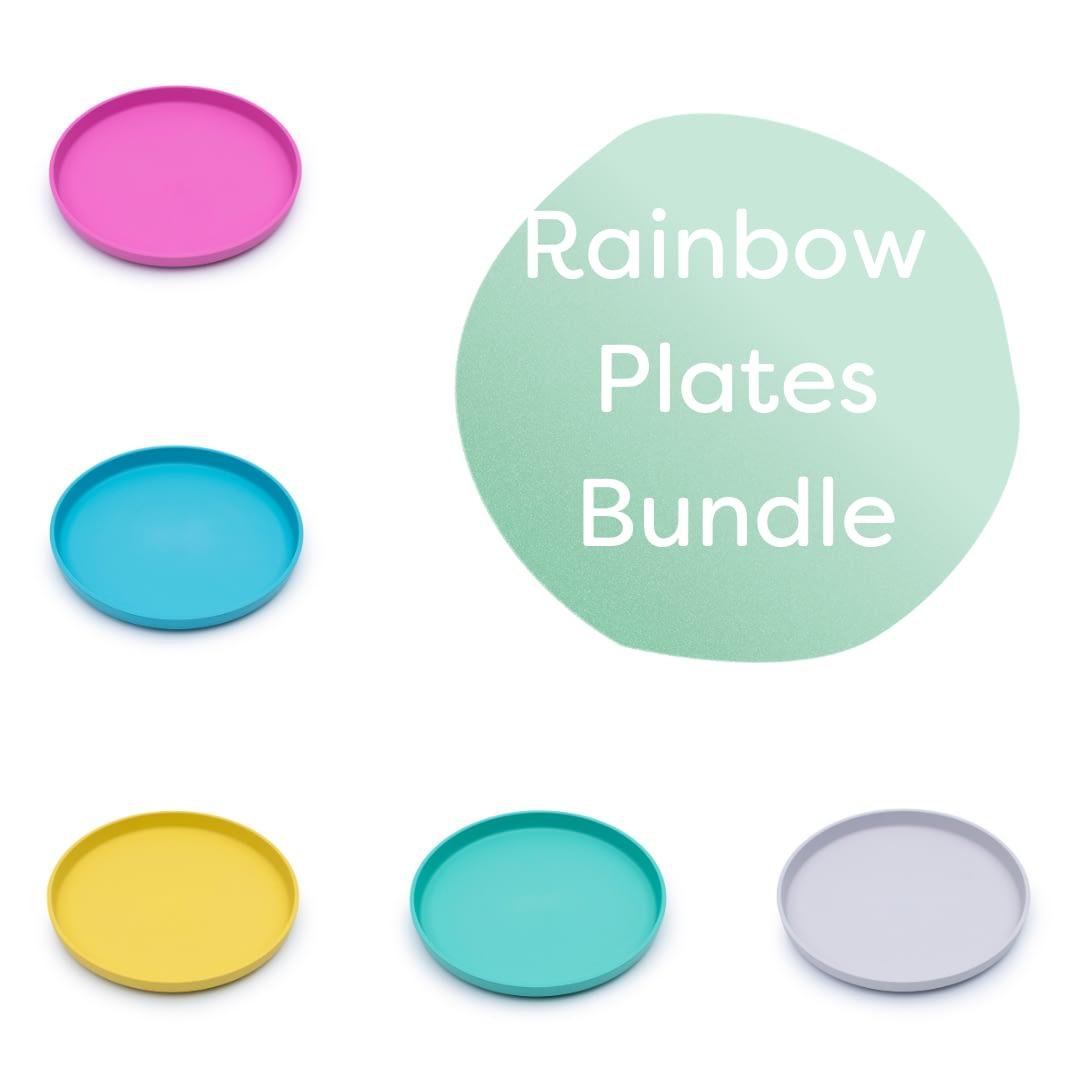 plates rainbow bundle