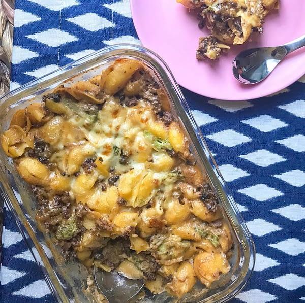 A Classic Reinvented With Veggies! veggies, bobo&boo, recipe, icook_they eat, hamburger helper