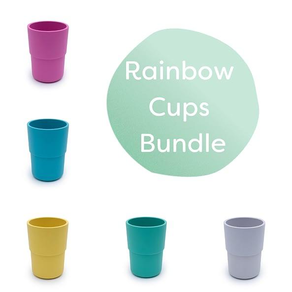 rainbow cups bundle