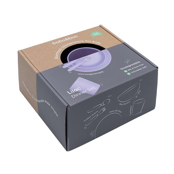 1.lilac Purple Dinnerwareset