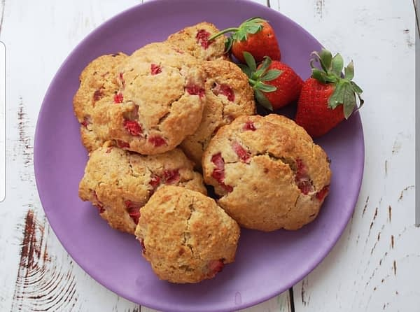 Strawberry Oat Cookies Bobo&boo