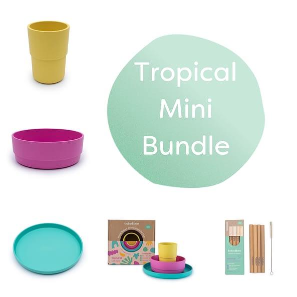 Tropical mini plant-based bundle