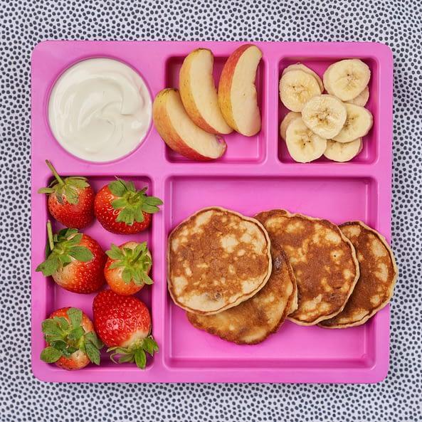 Apple And Sultana Mini Pancakes